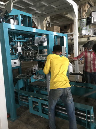 Fully Automatic Packing & Palletizing Line